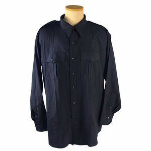 Flying Cross Mens Wool Blend Vintage Utility Shirt
